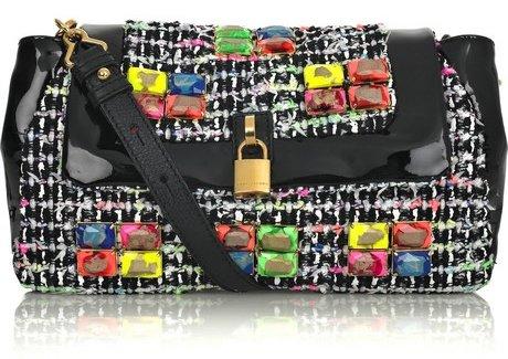 Флуоресцентные твидовые сумки от Marc Jacobs