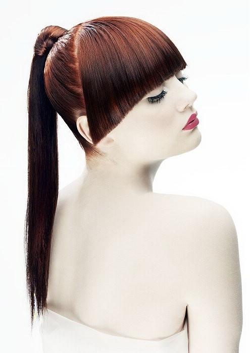 Летние прически для гладких прямых волос