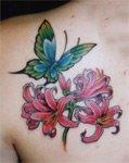 Тату-дизайн: бабочки