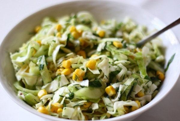 Рецепты салатов без майонеза на новый год 2021