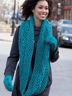 Снуд — модный шарф